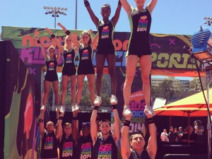 A-Max Cheerleaders for Kids Choice Sports Awards